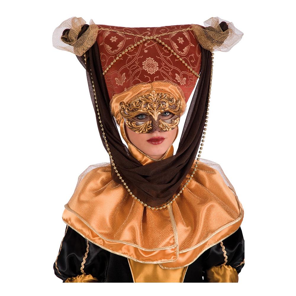 Vince Brun/Guld Deluxe Hatt - One size