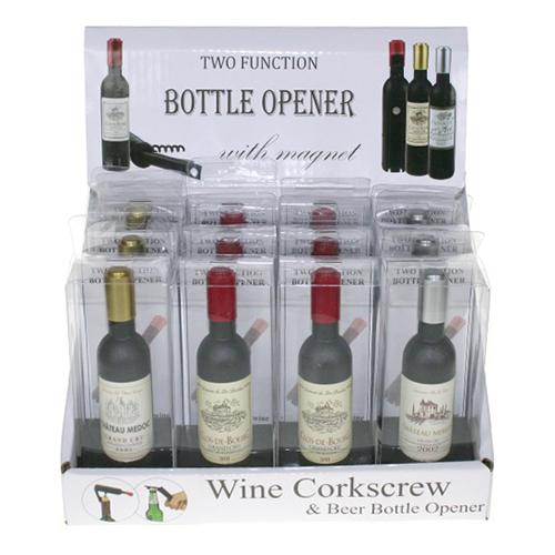 Vinflaska Flasköppnare