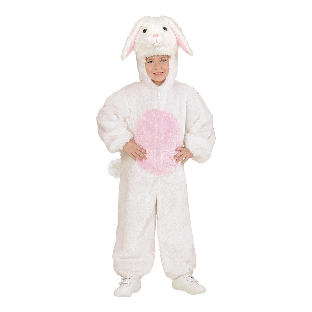 Vit Kanin Barn Maskeraddräkt - Small