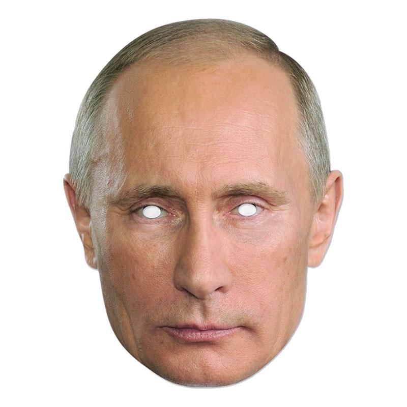 Vladimir Putin Pappmask - One size