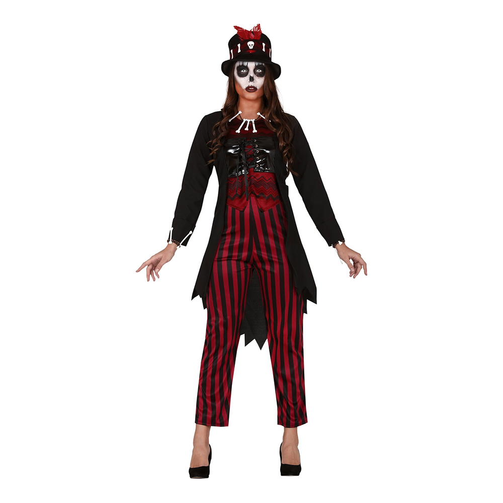 Voodoo-Kvinna Maskeraddräkt - Large