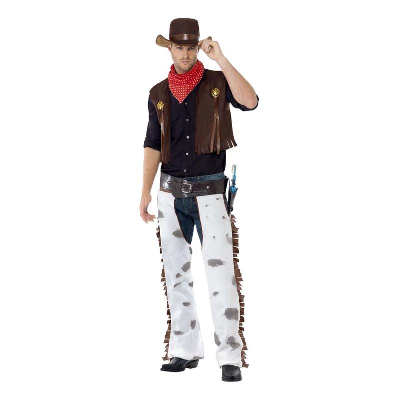 Western Cowboy Maskeraddräkt - Medium