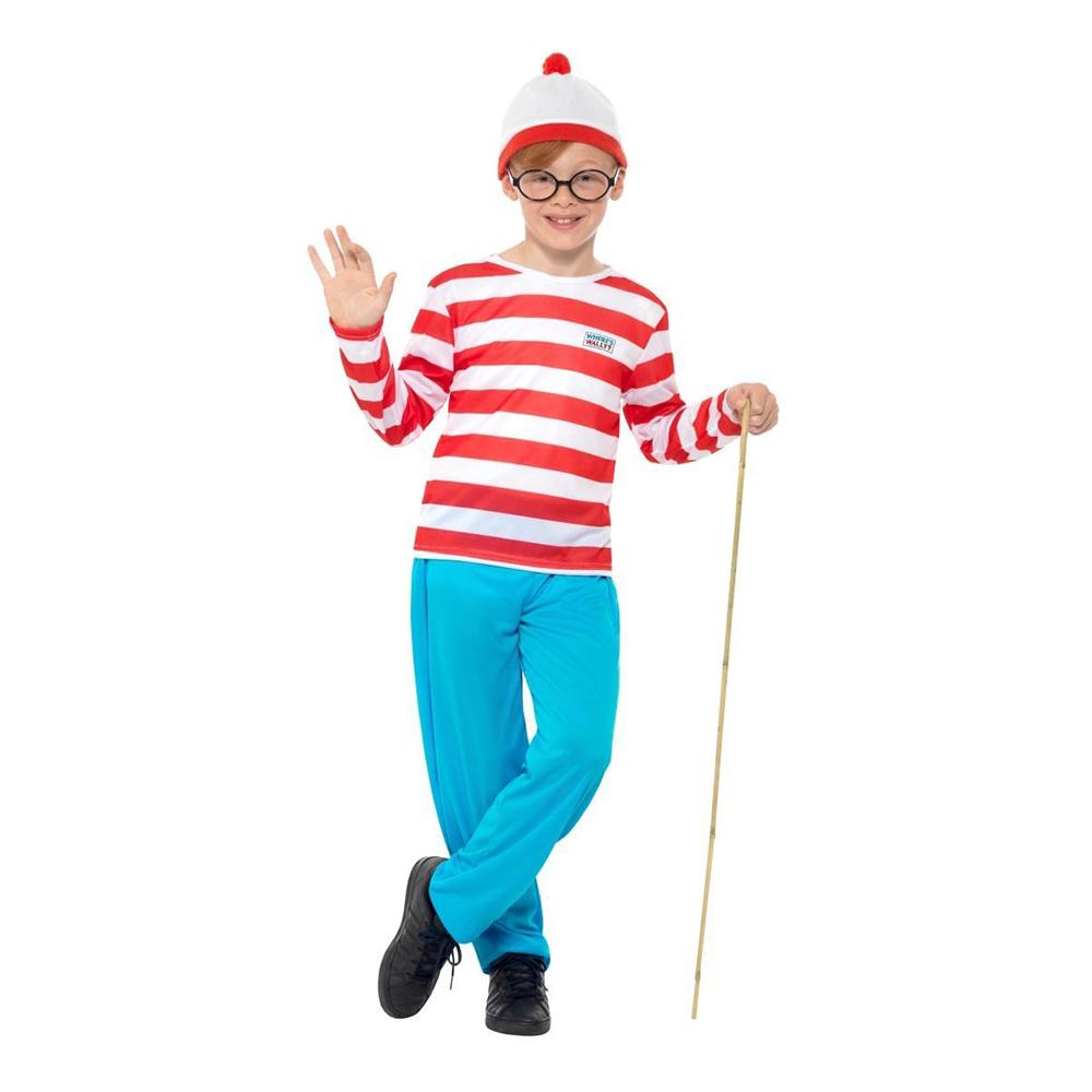 Where's Wally Barn Maskeraddräkt - Small