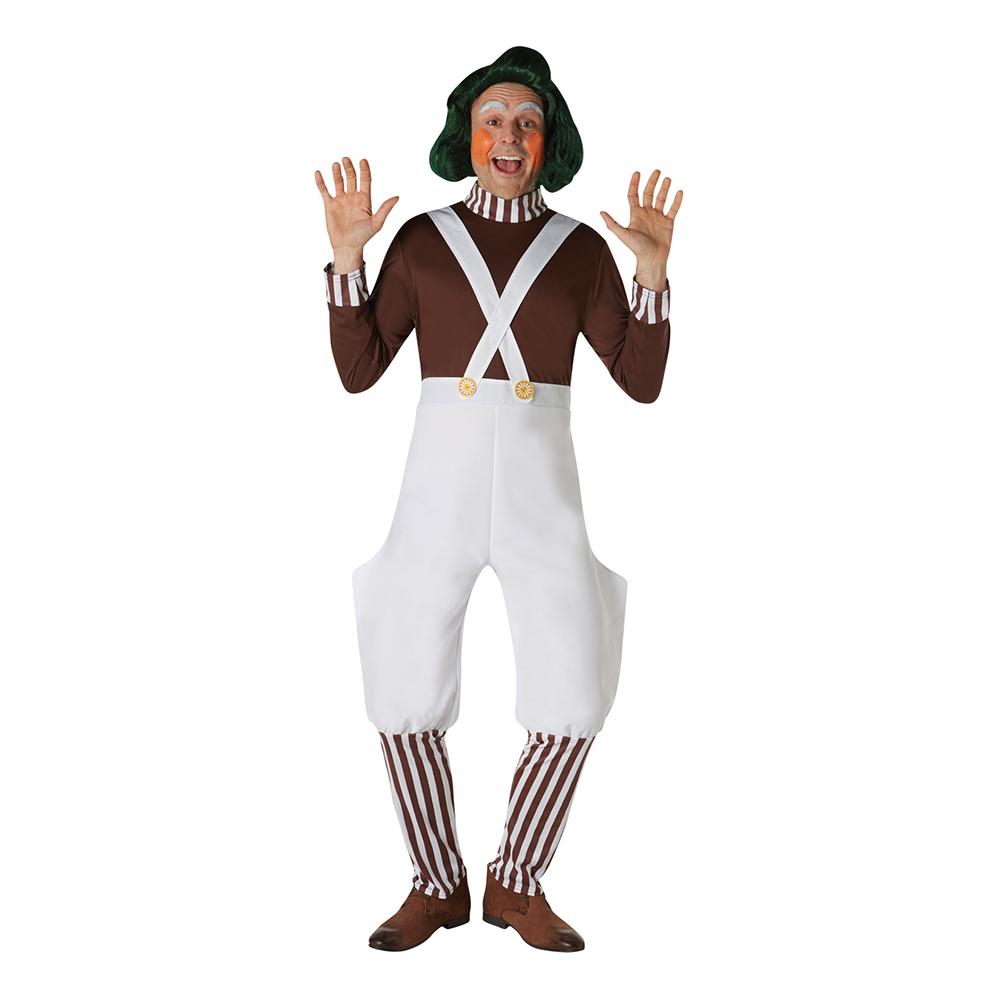 Willy Wonka Oompa Loompa Peruk - One size