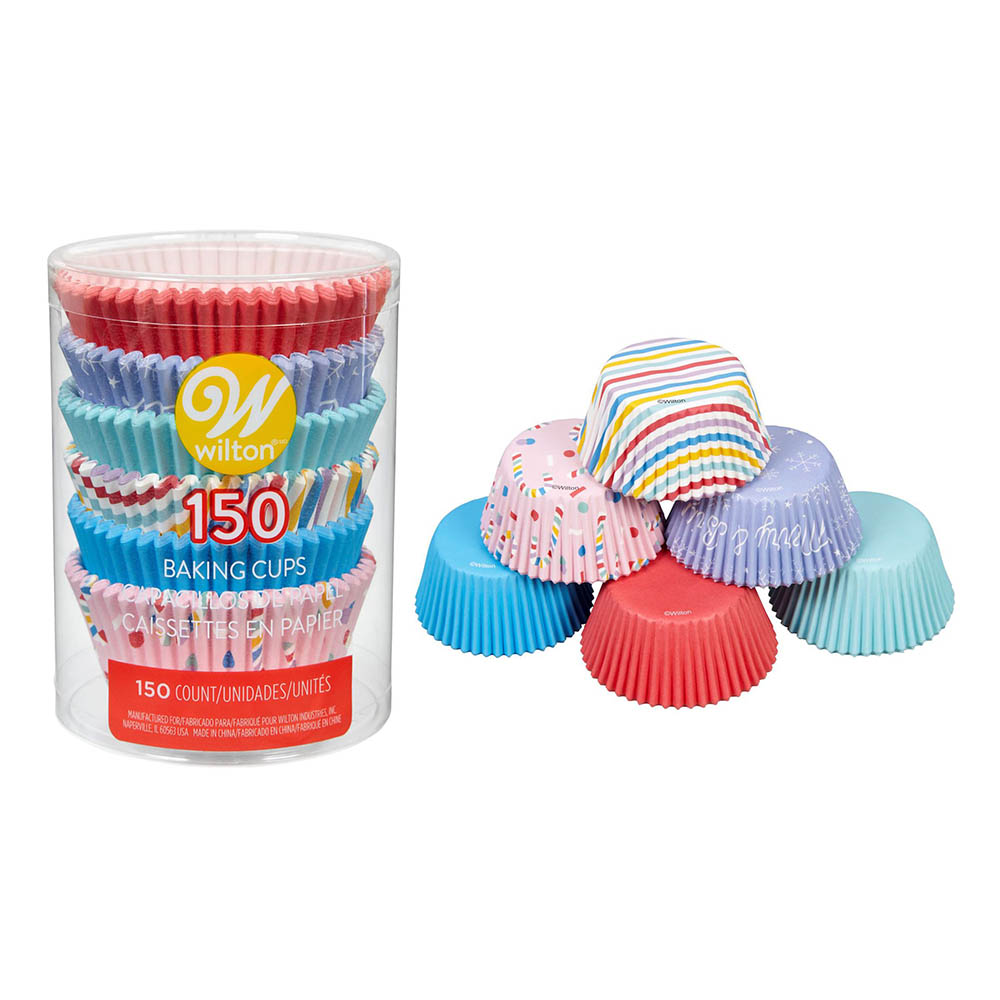 Wilton Muffinsformar Holiday Pack - 150-pack