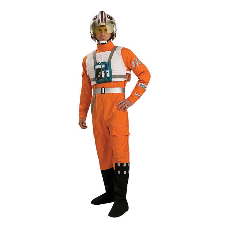 X-Wing Pilot Maskeraddräkt - Standard