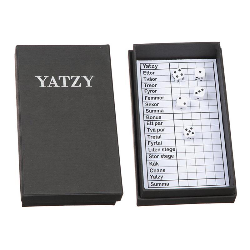 Yatzy Spellåda