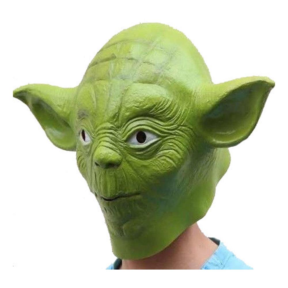 Yoda Mask Latex - One size