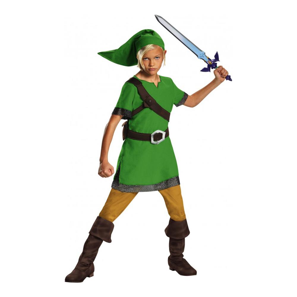 Zelda Link Barn Maskeraddräkt - Large