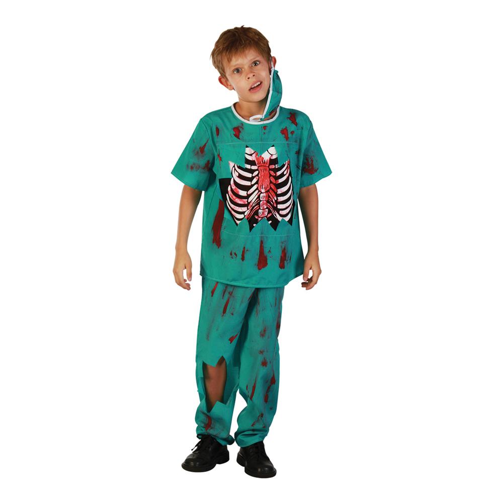 Zombiedoktor Barn Maskeraddräkt - Medium