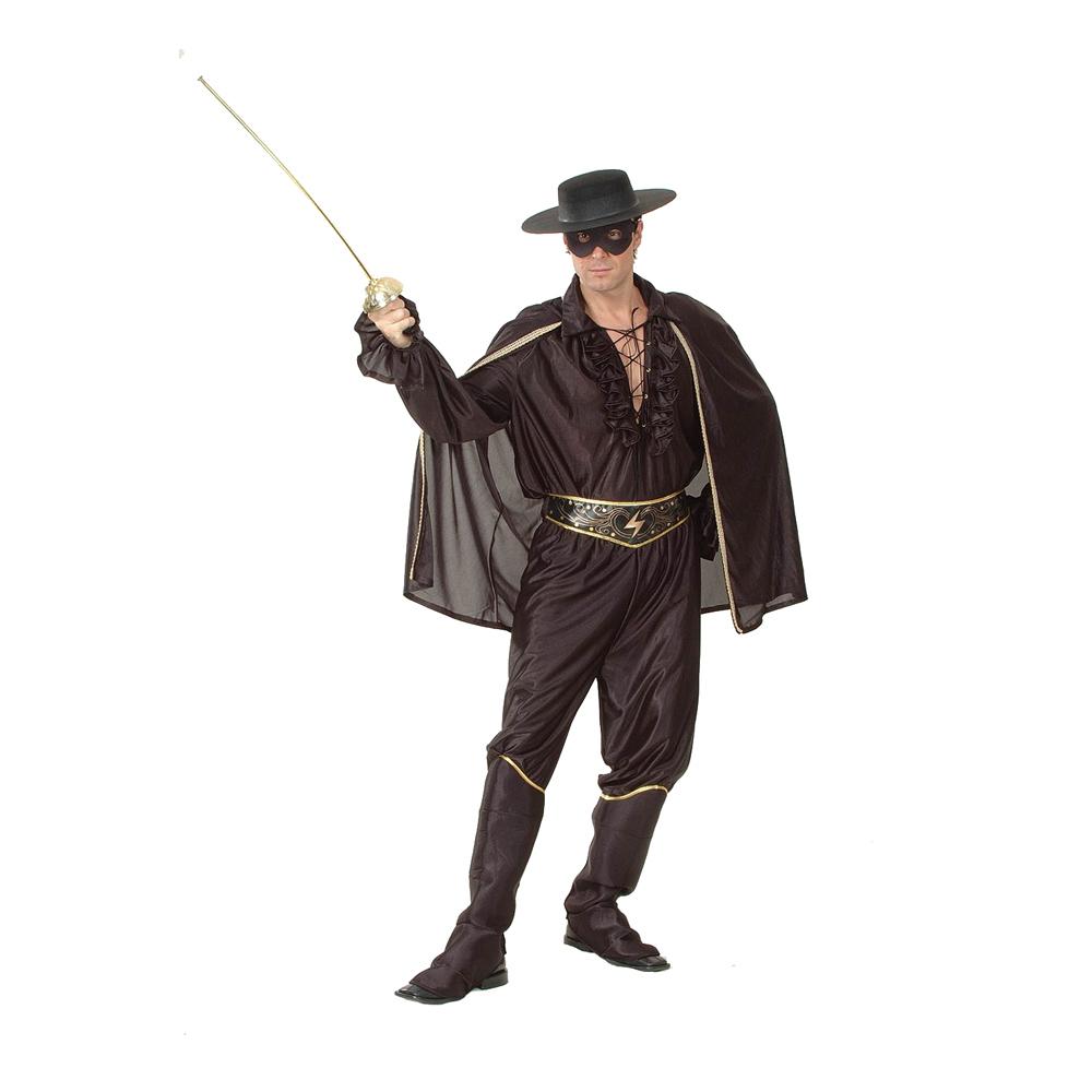 Zorro Budget Maskeraddräkt - One size