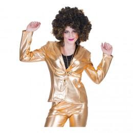 Disco Fever Jacka Guld Small