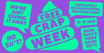 Free crap week 2021