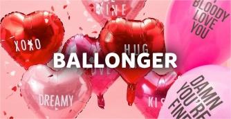valentinsdag ballonger